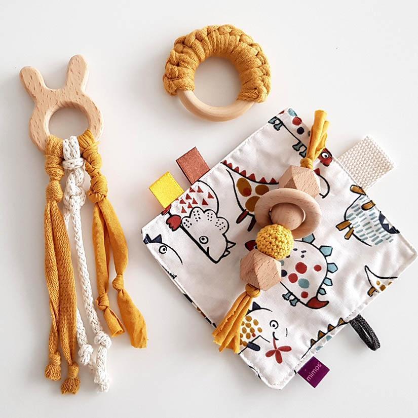 juguete kit texturas para bebé meitaimaitie