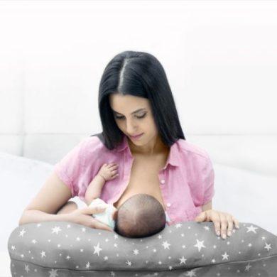 Cojín de embarazo y lactancia de Medela