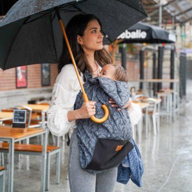 Cobertor de porteo para la lluvia Bykay - Portabebés ergonómico - Meitaimaitie