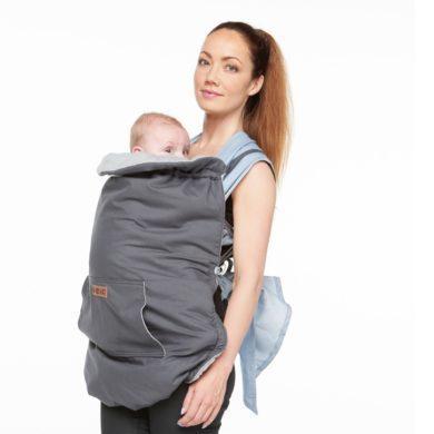 Cobertor de porteo para el frío Bykay - Portabebés ergonómico - Meitaimaitie
