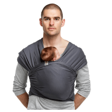 Fular Elástico Stretchy Deluxe Bykay - Portabebés ergonómico