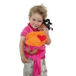 Fular Elástico de Juguete Bykay - Portabebés ergonómico