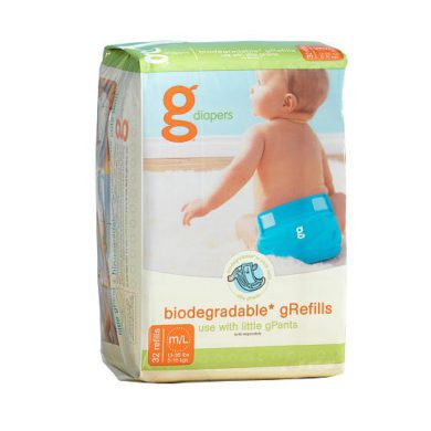 Absorbentes desechables gRefill gNappies