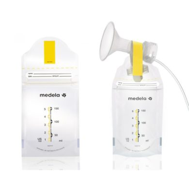 Bolsas Pump and Save para congelar Medela