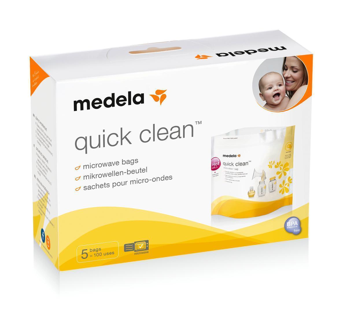 Bolsas Quick Clean para Esterilizar Medela