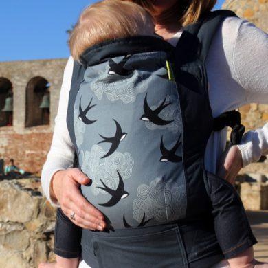 Cómoda mochila ergonómica Boba 4GS Portabebés