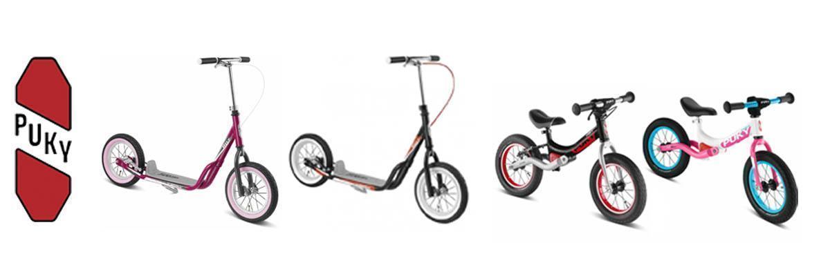 Bicicletas aprendizaje y patinetes Puky