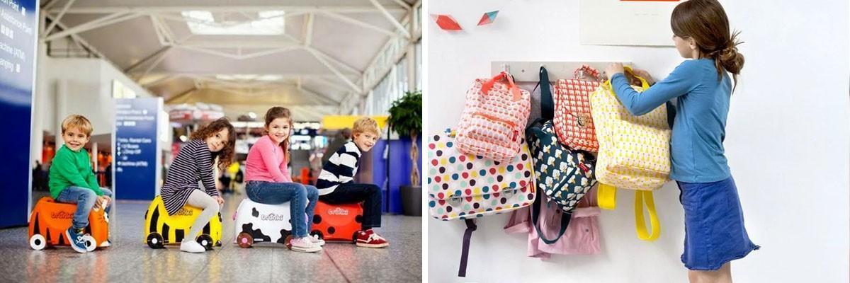Mochilas Engel y maletas de viaje para niños Trunki